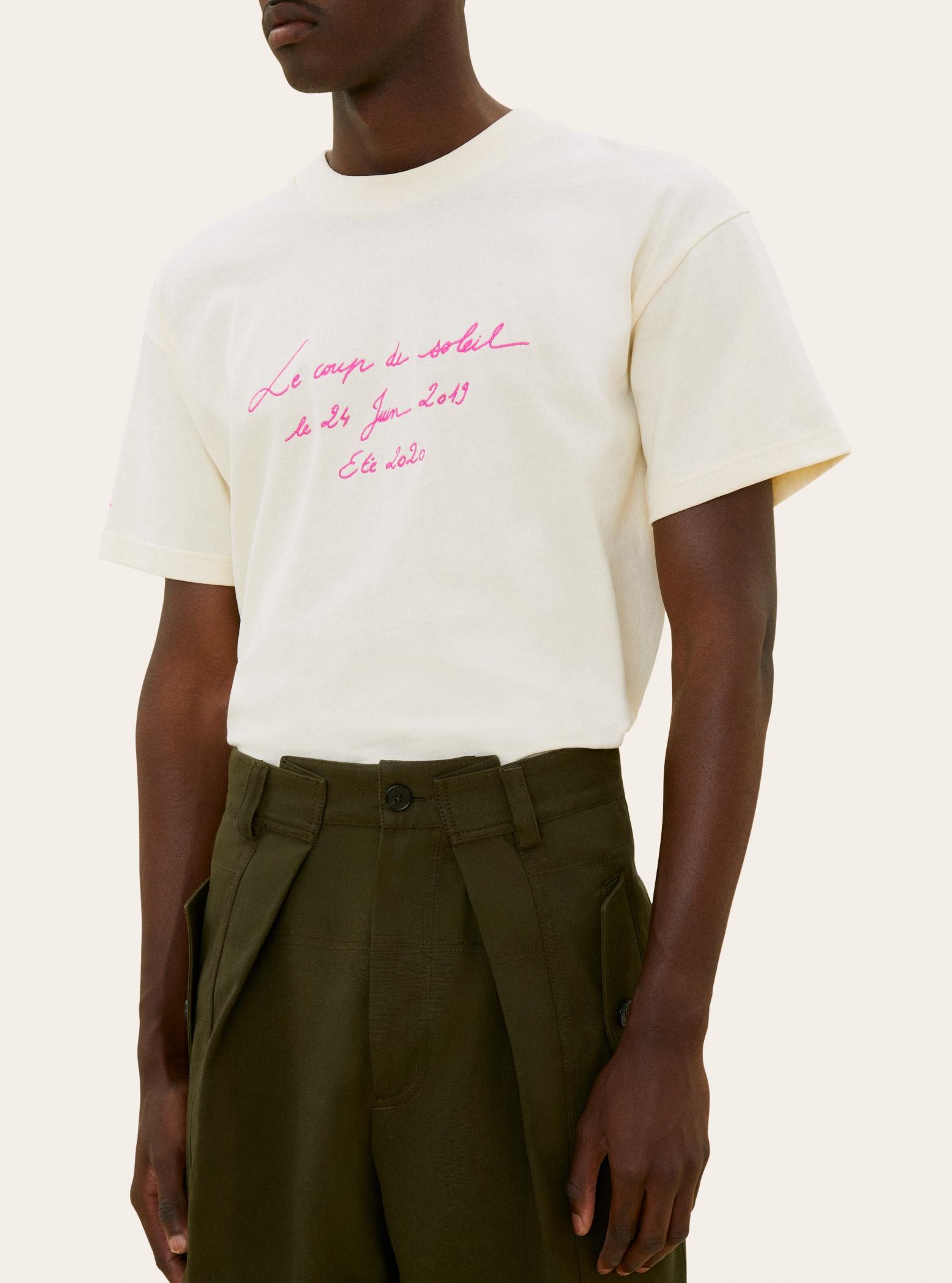 Le t-shirt Coup de Soleil
