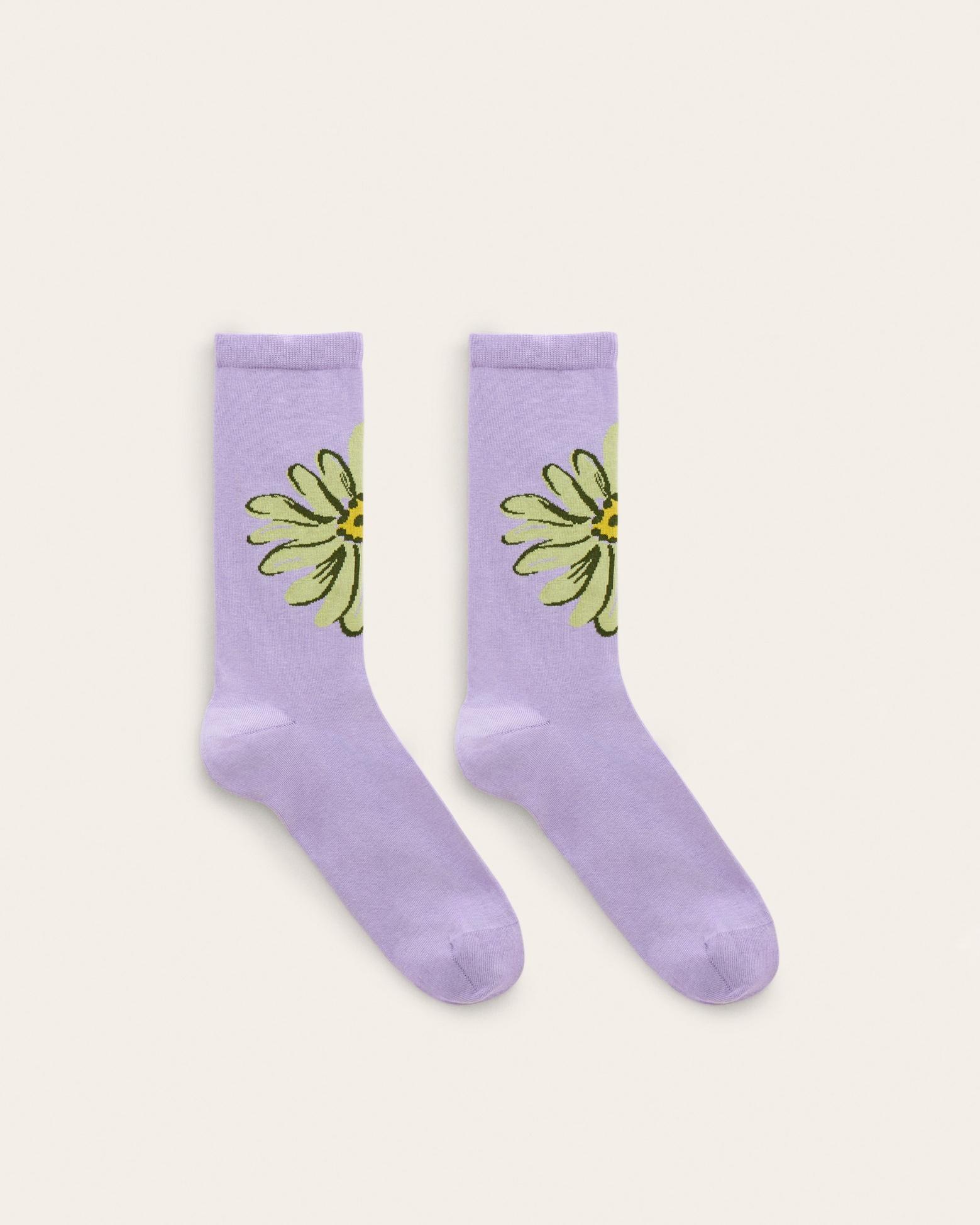 Les chaussettes Fleurs