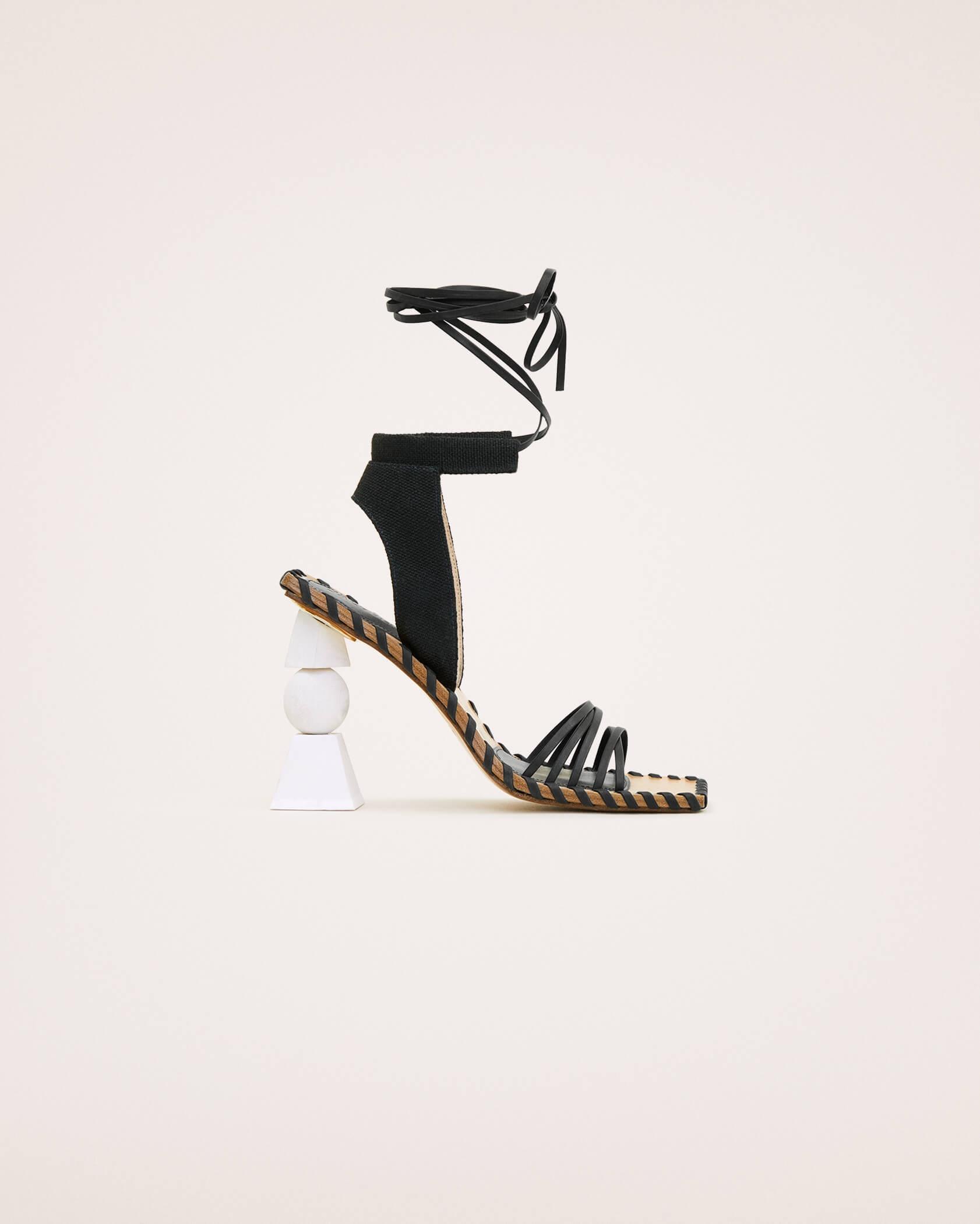 Les sandales Valérie hautes