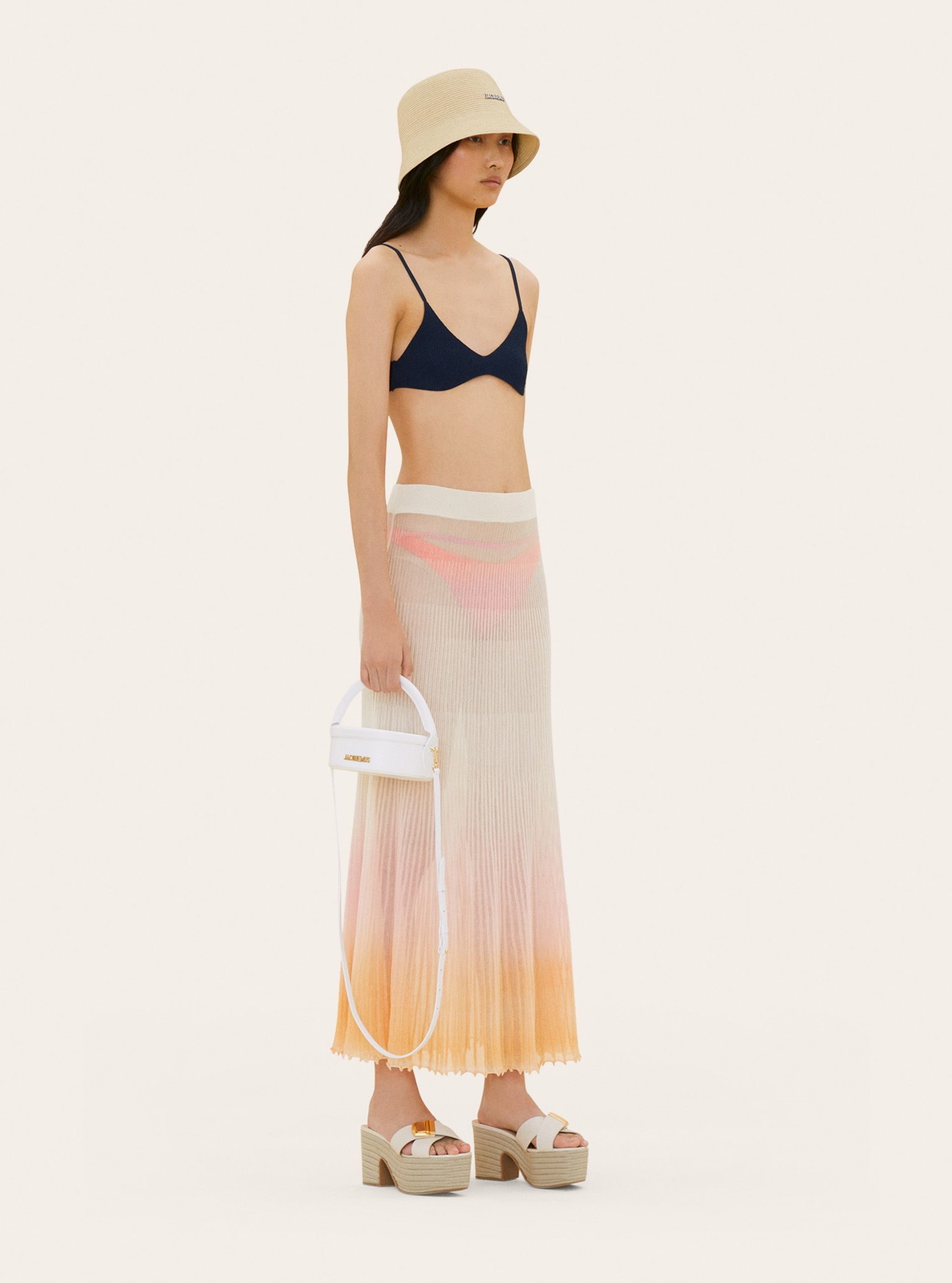 La jupe Helado longue