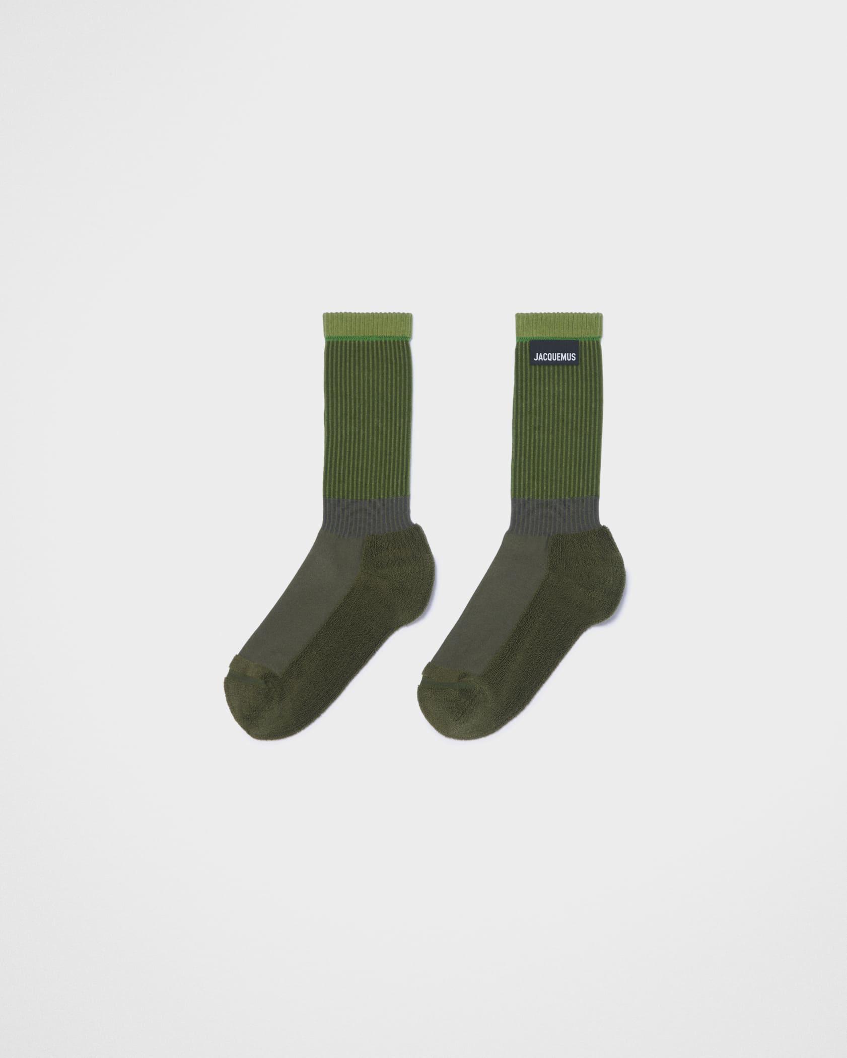 Les chaussettes à l'envers