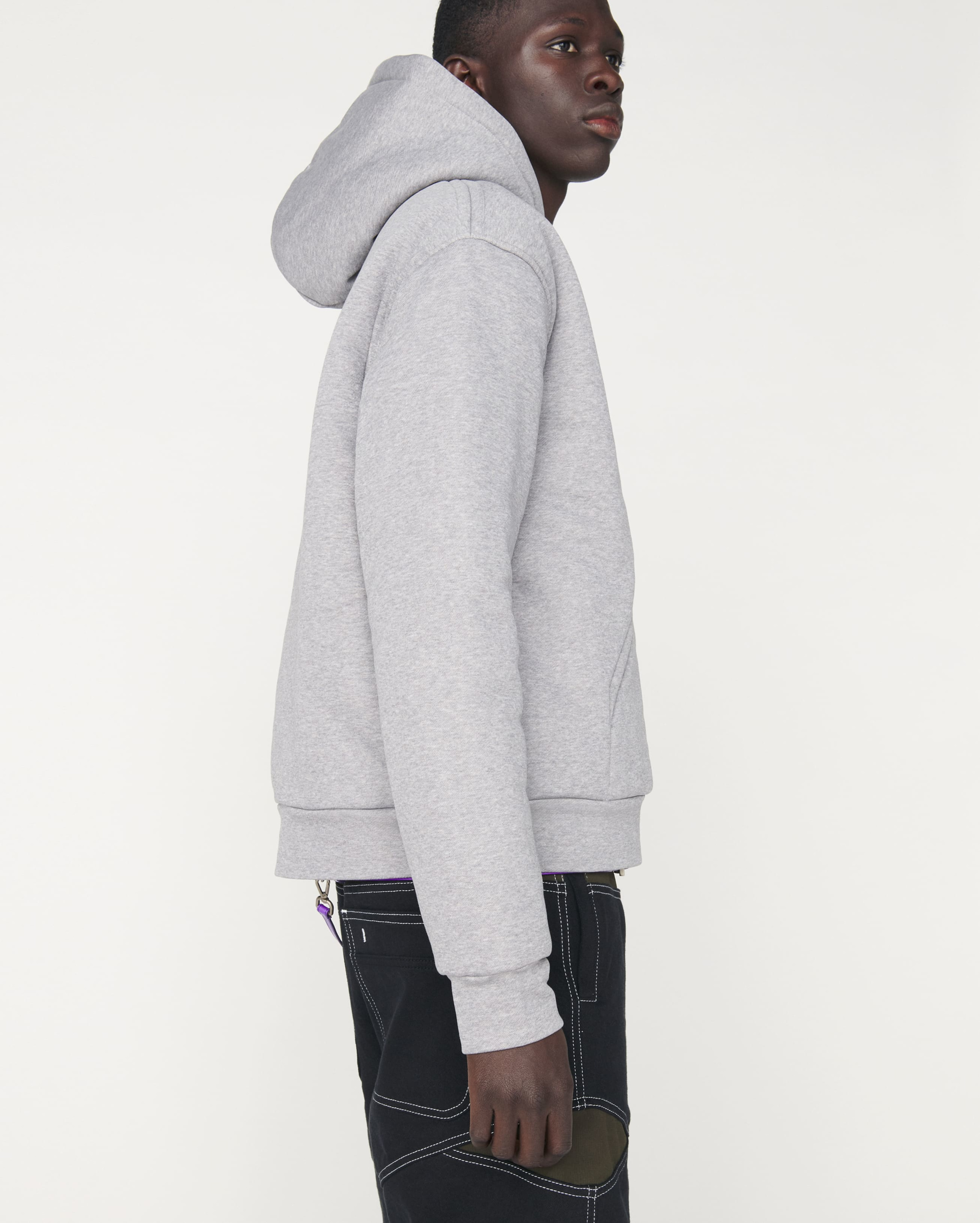 Le sweatshirt doudoune