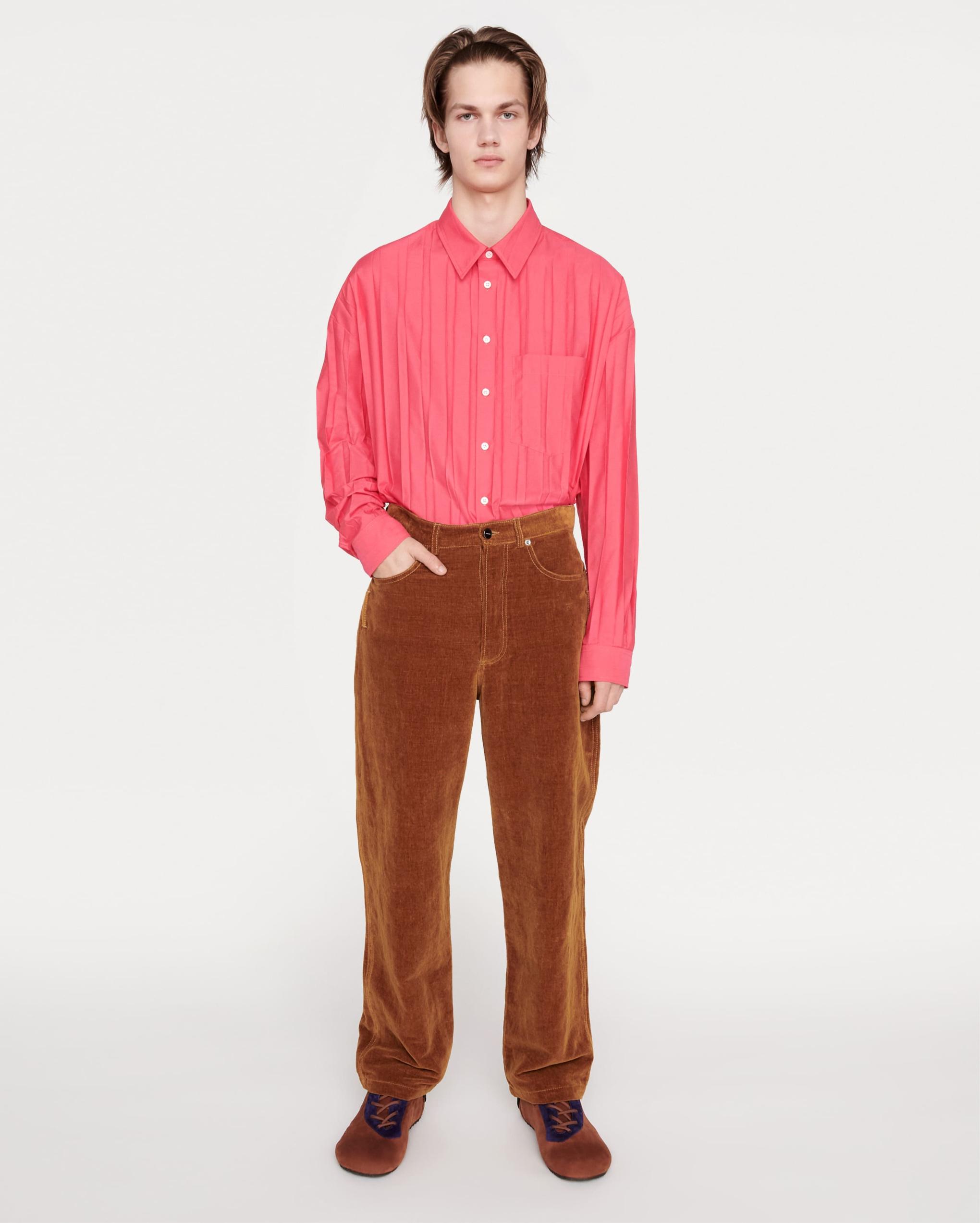 Le pantalon velours