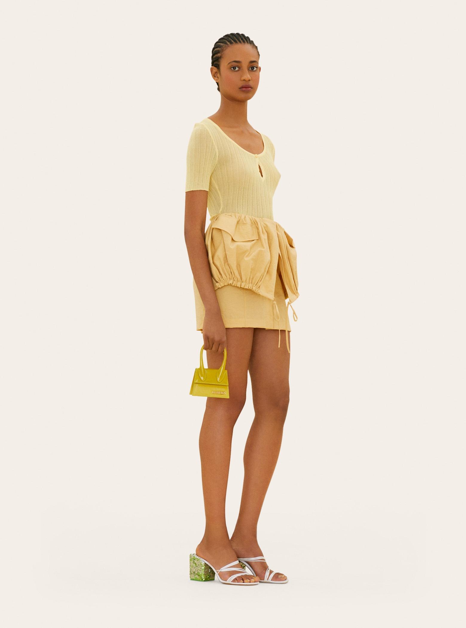 La jupe Cueillette courte