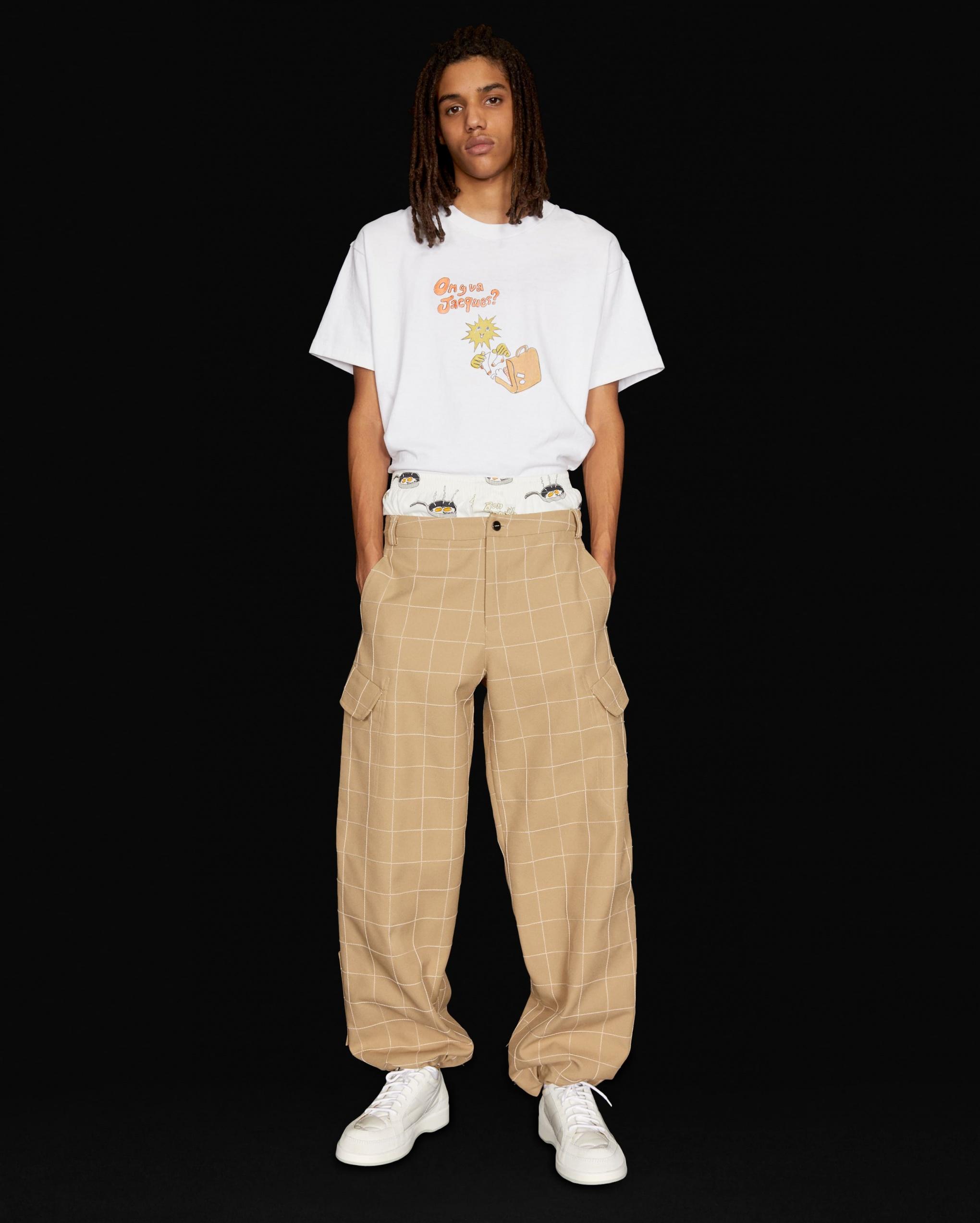 Le pantalon Quadri