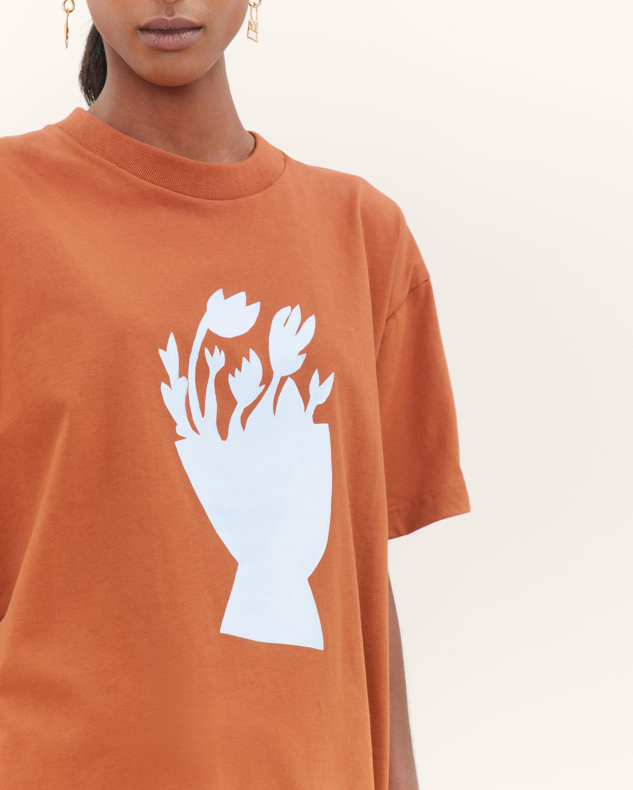 Le t-shirt bouquet