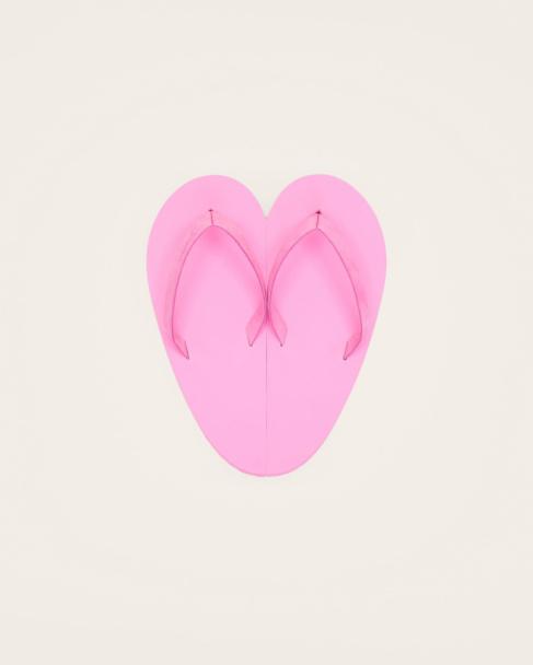 Les tongs Coeur
